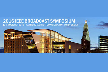 Online registration open for 2016 IEEE Broadcast Symposium