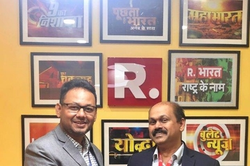 Republic TV India boosts newsgathering with LiveU HEVC