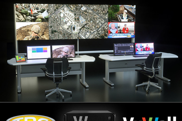 VuWall and TBC Consoles partner to offer control room kit