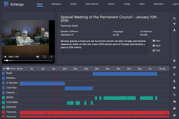 Primestream's automated transcription and video cataloging selected by OAS