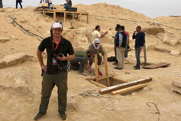 Calrec Brio keeps it cool in the Egyptian desert