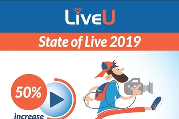 LiveU 2019 'State of Live' Report Confirms Growth in Live IP Broadcasting