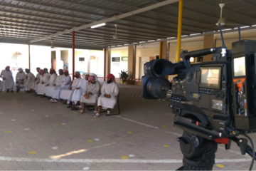 AVIWEST Technology Ensures Flawless Live Coverage of the Majlis Al-Shura Elections in Oman