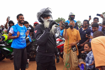 LiveU Solo Helps Isha Foundation Connect with Millions of People