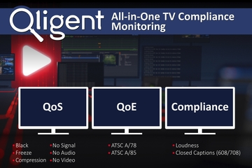 Qligent to Launch All-in-One Compliance Monitoring System at 2020 NAB Show