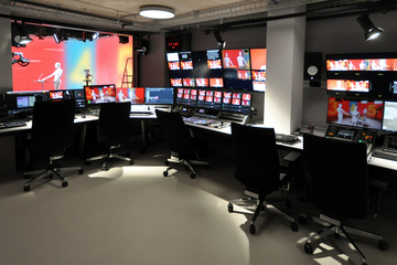 Custom Consoles Module-R and Module-R Lite Desks Chosen for New Studio and Production Gallery in Geneva