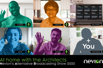 "Stay ""At Home with the Architects"" for Nevion's Alternative Broadcasting Show"
