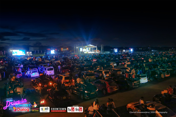 First drive-in concert in South Asia