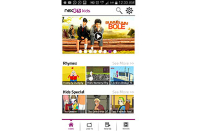 NexGTv launches India's first kids infotainment mobile app