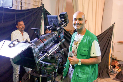 After using the RED Weapon Brain camera for his maiden project, director-producer Farhad Vijay Arora has decided on 8K content for all his future assignments