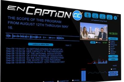 ENCO to demonstrate latest enCaption automated captioning at 2018 NAB Show