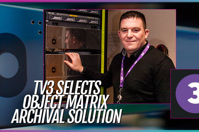 Tyrell, Object Matrix deliver Petabyte of media-focused private cloud storage to TV3