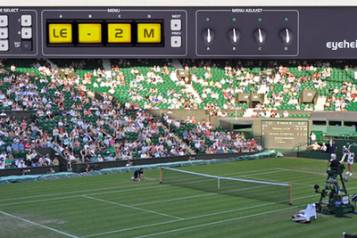 Eyeheight Legaliser chosen for OB coverage Wimbledon tennis championships, 2018
