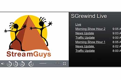 StreamGuys to preview live stream rewind, resume and restart technology at IBC, 2018