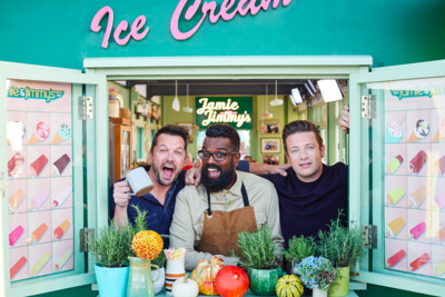 Jamie and Jimmy's Food Fight Club exclusively on FOX Life