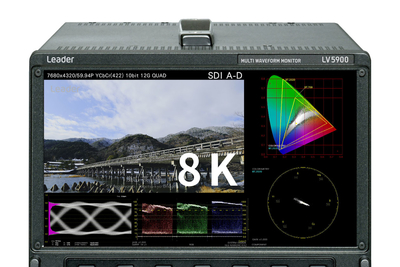Leader to introduce 4K-IP, 8K test and measurement products at NAB Show 2019