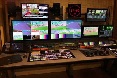 Custom Consoles Module-R desks chosen for IENA Stadium MCR