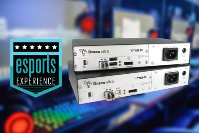 IHSE USA jumps into gaming action with Draco ultra DP 240, at NAB Show 2019