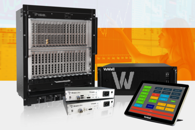 IHSE USA and VuWall join forces on KVM Management Systems, wall displays