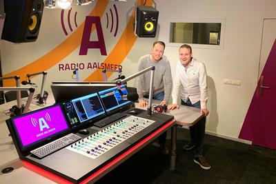 Radio Aalsmeer puts Lawo Crystal and RƎLAY on-air