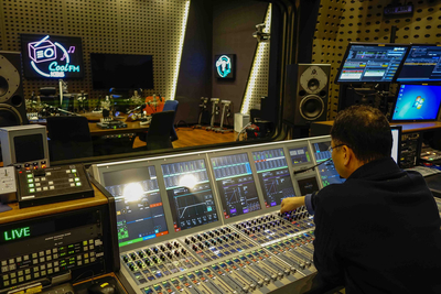 Korea's KBS Radio tunes in to Calrec's Artemis Light consoles