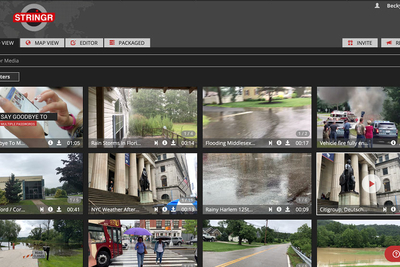 TVU Networks partners with Stringr to source custom live video