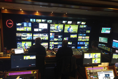 NEP selects Lawo IP routing, processing and multiviewers for M15 truck