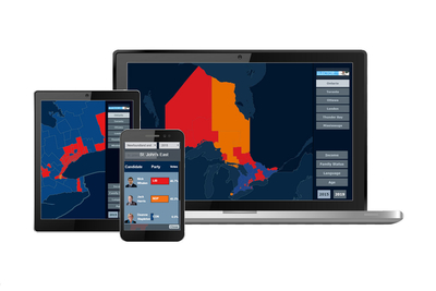 Bannister Lake complements broadcast election data solutions with online and mobile capabilities