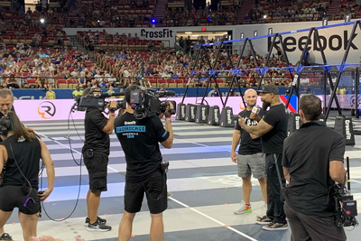 CP Communications covers multi-venue CrossFit games