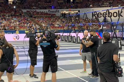 CP Communications covers multi-venue CrossFit games