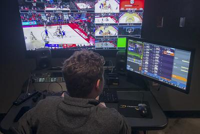 Riedel Artist and Bolero Wireless across University of Georgia sports venues
