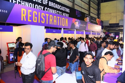 Presenting the 29th edition of Broadcast India Show