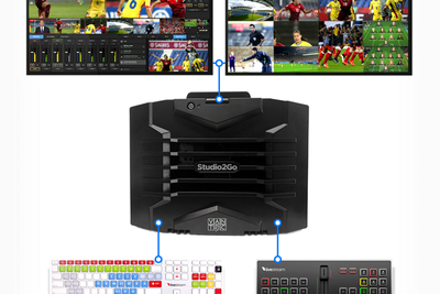 Vantec/Danmon's introduces Studio2Go 4K/UHD production system