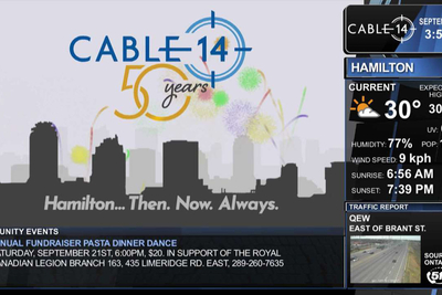 Bannister Lake's Chameleon powers Ontario-Based Cable 14's on-air look