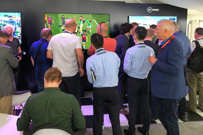 Leader LV5900 HD/4K/8K monitors BT Sport Live 8K broadcast into IBC2019