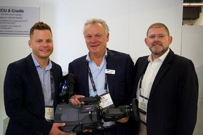 Grass Valley breaks sales record of UHD cameras to ES Broadcast at IBC2019