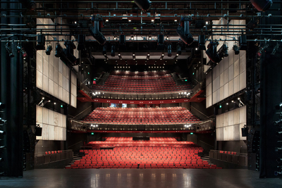 Riedel's Bolero Wireless Intercom on Stage at Sadler's Wells Theatre