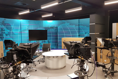 ATG Danmon Completes News Studio Systems for Cardiff University's School of Journalism, Media and Cultural Studies