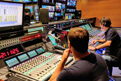 Lawo Audio at Russia's Premier TV Channel