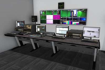 Plymouth Marjon University Chooses Custom Consoles Desks for New Broadcast Media Training Facility