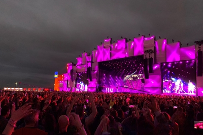 Rock in Rio: GloboSat performs 4k/Immersive Remote Production with Lawo
