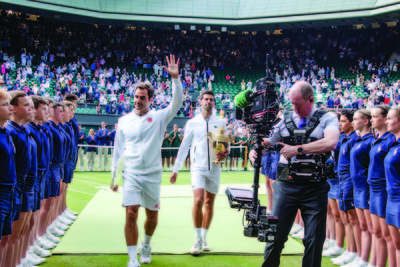 The Wimbledon Championships is receiving a digital-broadcast facelift, and probably its most exciting one, over its 151-year history