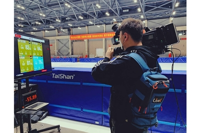 LiveU Remote At-Home Production Helps Tencent Bring Speed Skating Race