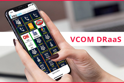 Intracom Systems, LLC Releases VCOM DRaaS Disaster Recovery as a Service