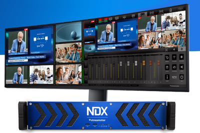 CJP Announces Streamstar NDX 400 IP/NDI Remote Live Production System