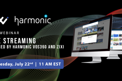 Zixi and Harmonic Bolster Partnership for Cloud-Based Video Delivery