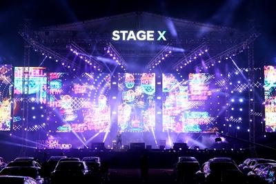Hyundai's Stage X Drive In ConcertGoes Live with Blackmagic Design ATEM 2 M/E Production Studio 4K