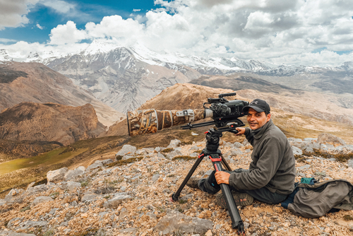 FILMING IT WILD: Praveen Singh travelled all over India to highlight endangered animals in many types of terrain, for the second season of On the Brink