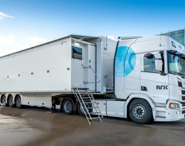 NRK Invests in Leader Test & Measurement Equipment for New OB24 Expanding Trailer