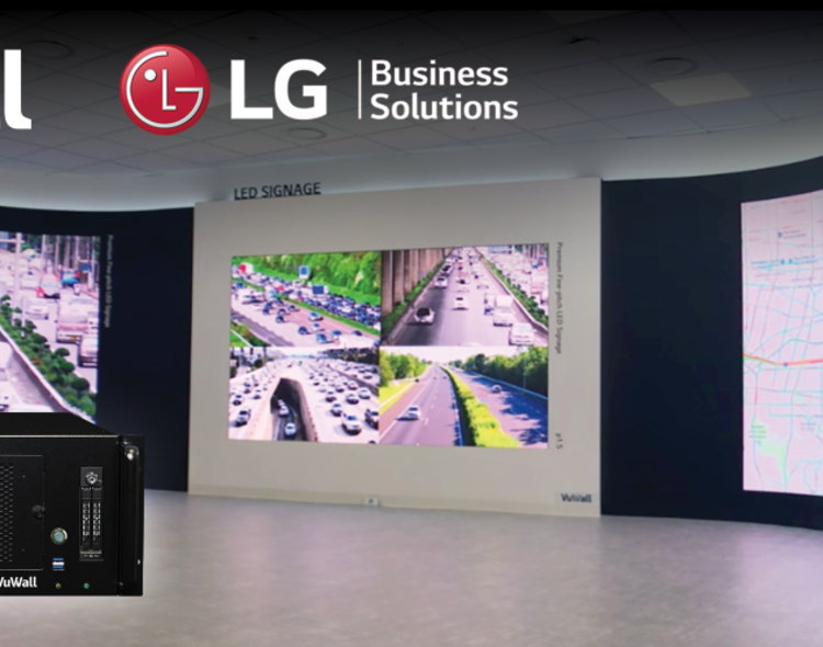VuWall Powers Video Walls in LG's New Showrooms